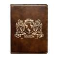 Irish Coat of Arms Leather Passport Wallet