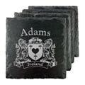Irish Coat of Arms Slate Coasters - Set of 4