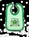 Irish Coat of Arms Baby Bib - Plain