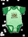 Irish Coat of Arms Baby Onesie