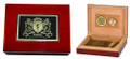 Irish Coat of Arms Cigar Humidor | Irish Rose Gifts