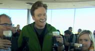 Conan O'Brien visits the Dublin Guinness Brewery
