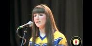 Irish National Anthem performed by Eileen Muckian