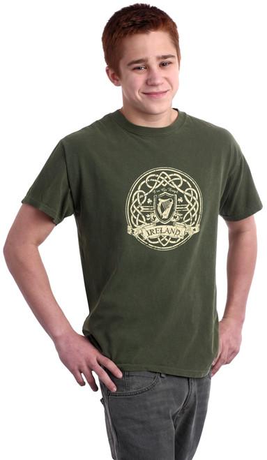Vintage Ireland Harp Tee Shirt