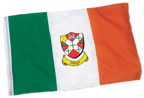 Irish County Coat of Arms Flag - 3x5