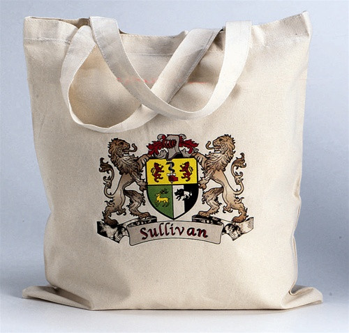 Irish Coat of Arms Tote Bag | Irish Rose Gifts
