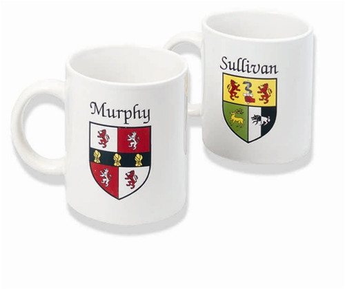 Irish Coat of Arms Mug (set of 2) | Irish Rose Gifts
