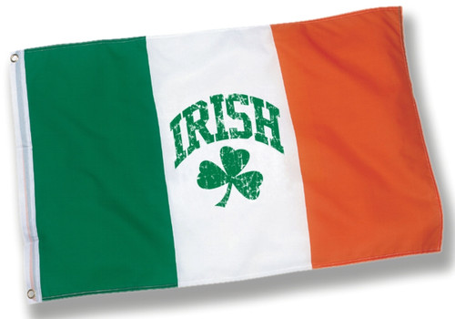 Irish Shamrock Flag - Size - 3' x 5' foot