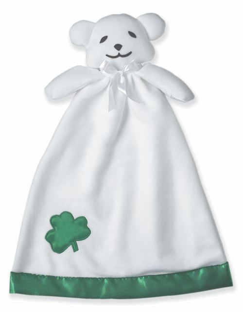 irish baby bear blankie
