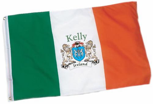Heavy Duty Outdoor Irish Coat of Arms Ireland Flag