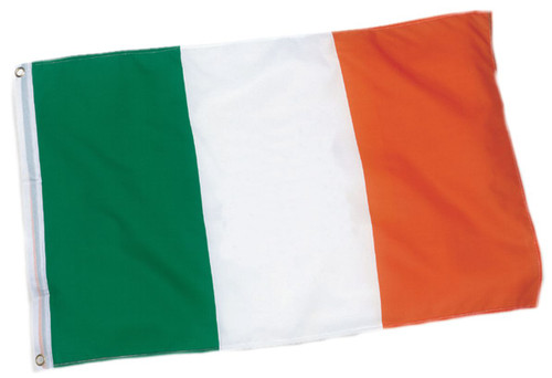 "12""x18"" Ireland Boat flag - full"