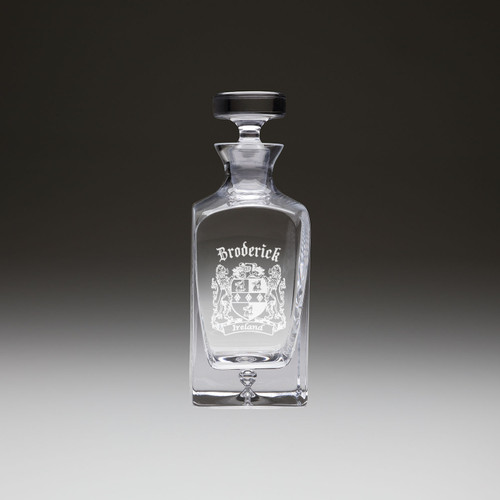 Irish Coat of Arms Premium Whiskey Decanter