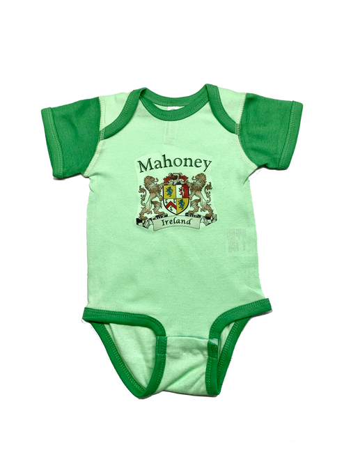 Irish Coat of Arms Baby Onesie