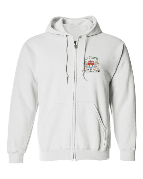Irish Coat of Arms Full-Zip Hooded Sweatshirt