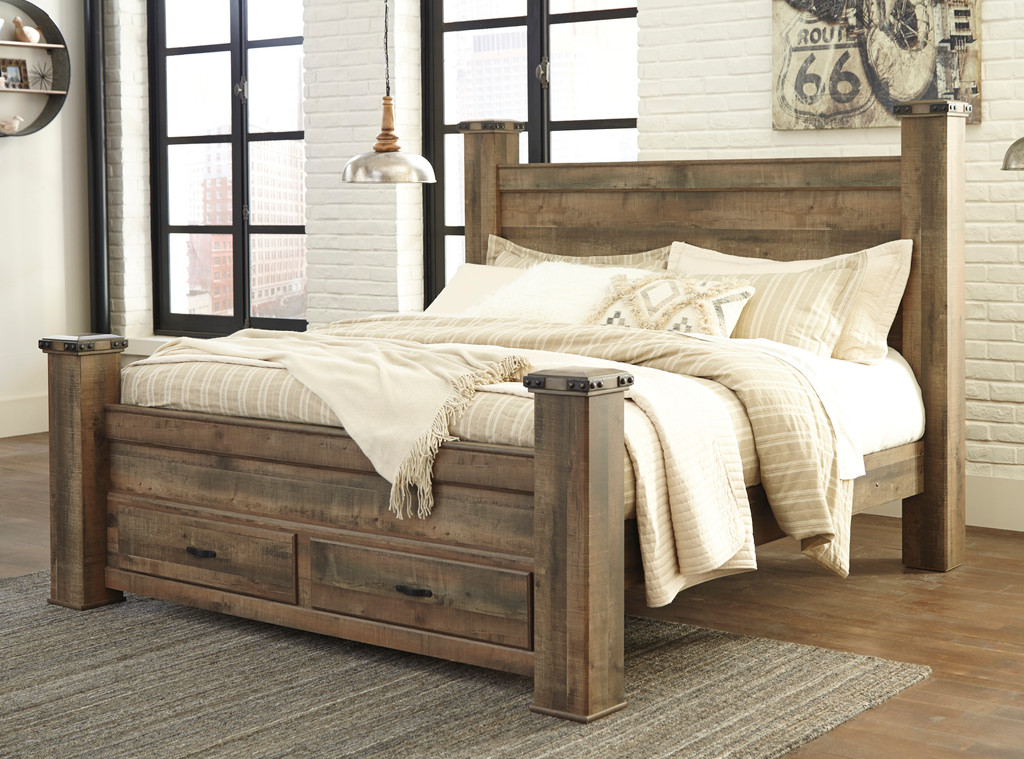 The Trinell Poster Storage Bedroom Collection Miami Direct Furniture