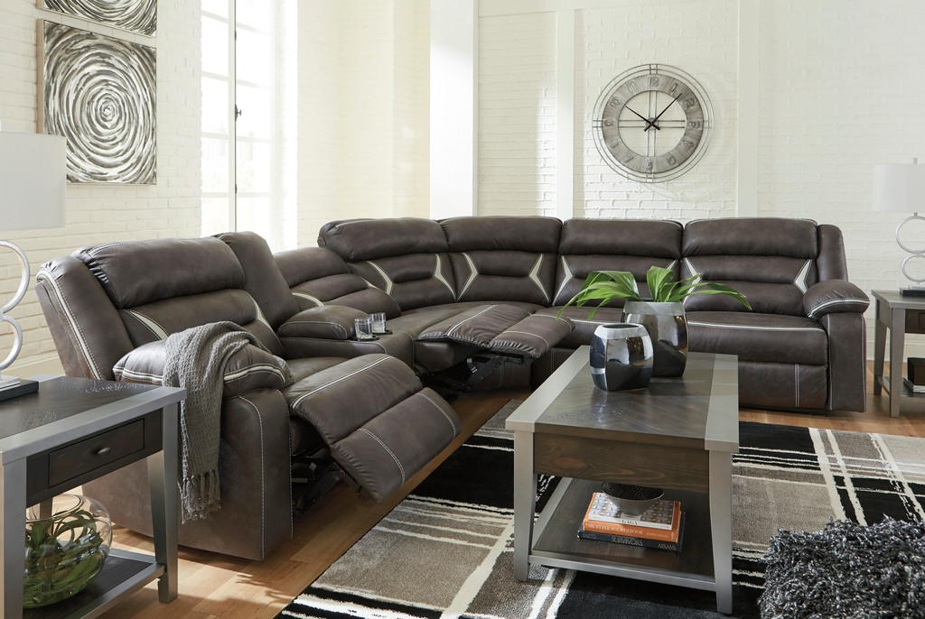 The Kincord Reclining Sectional