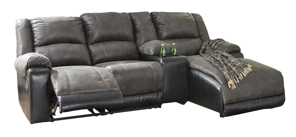 The Nantahala Simple Reclining Sectional