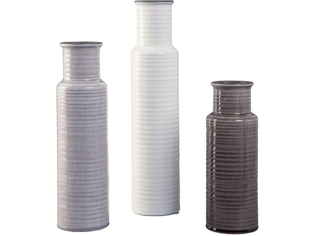 The Deus 3pc Table Top Vase Set