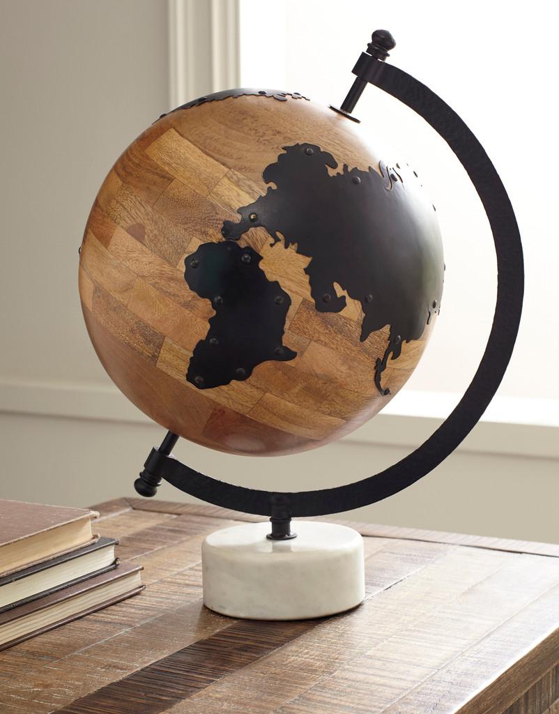 The Alameda Sculpture Globe