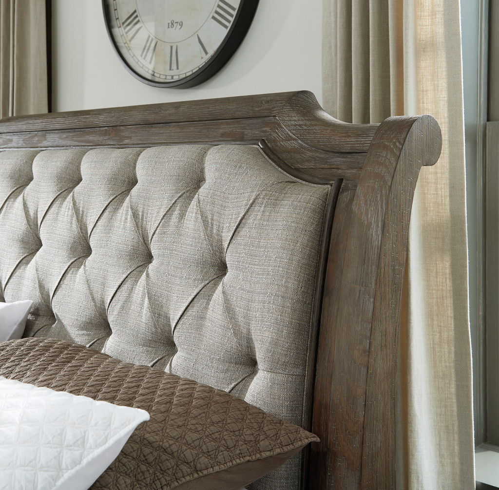 The Wyndahl Upholstered Bedroom Collection Miami Direct Furniture