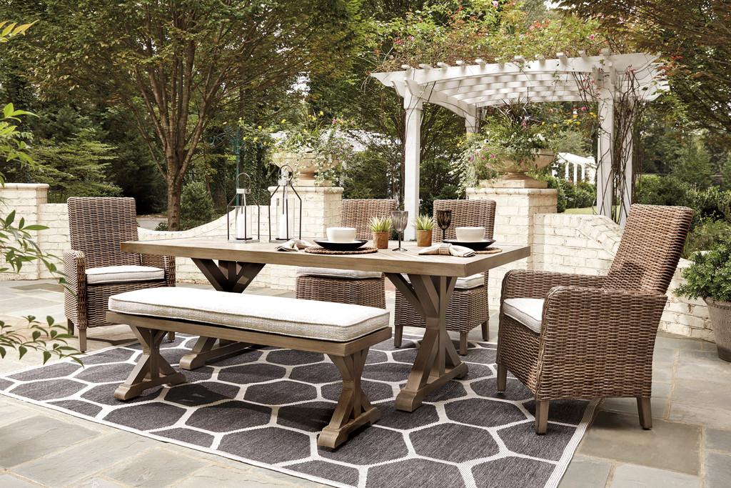 the beachcroft 6pc patio dining set