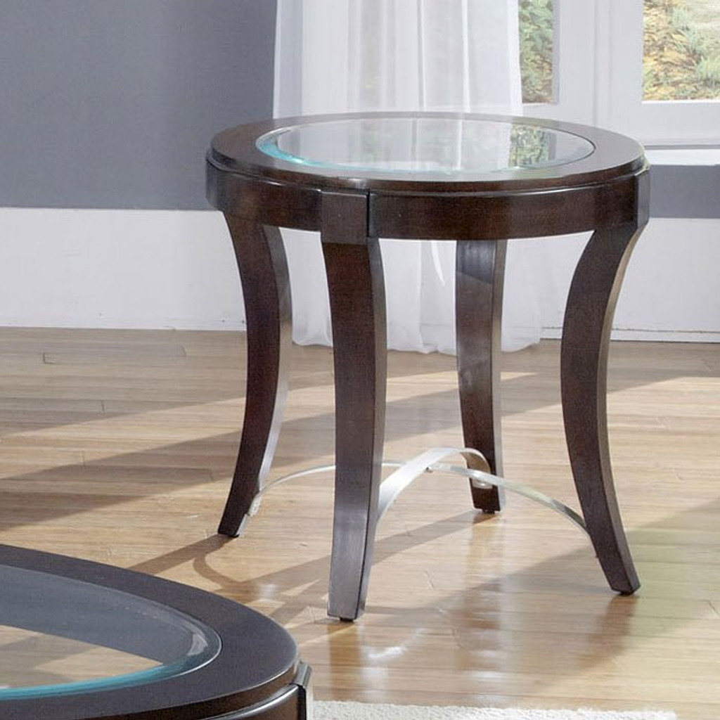 The Avalon Glass Top Coffee Table Set