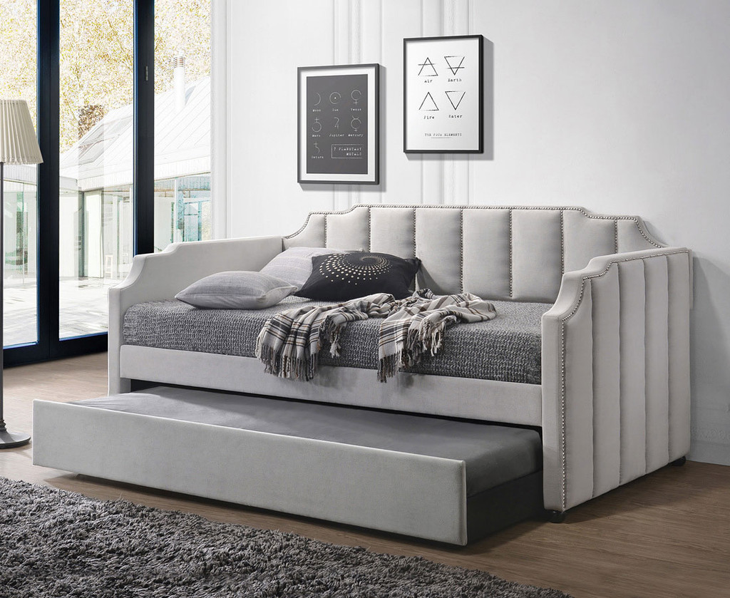 - The Peridot Daybed & Trundle - Miami Direct Furniture