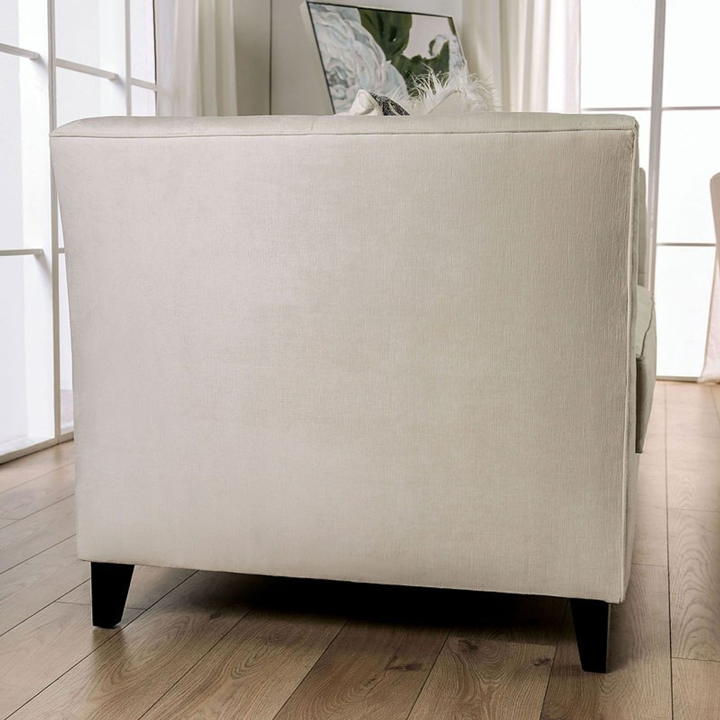 The Monaghan Ivory Living Room Collection