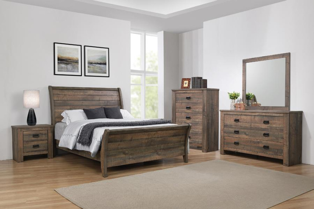 The 7pc Frederick Bedroom Collection