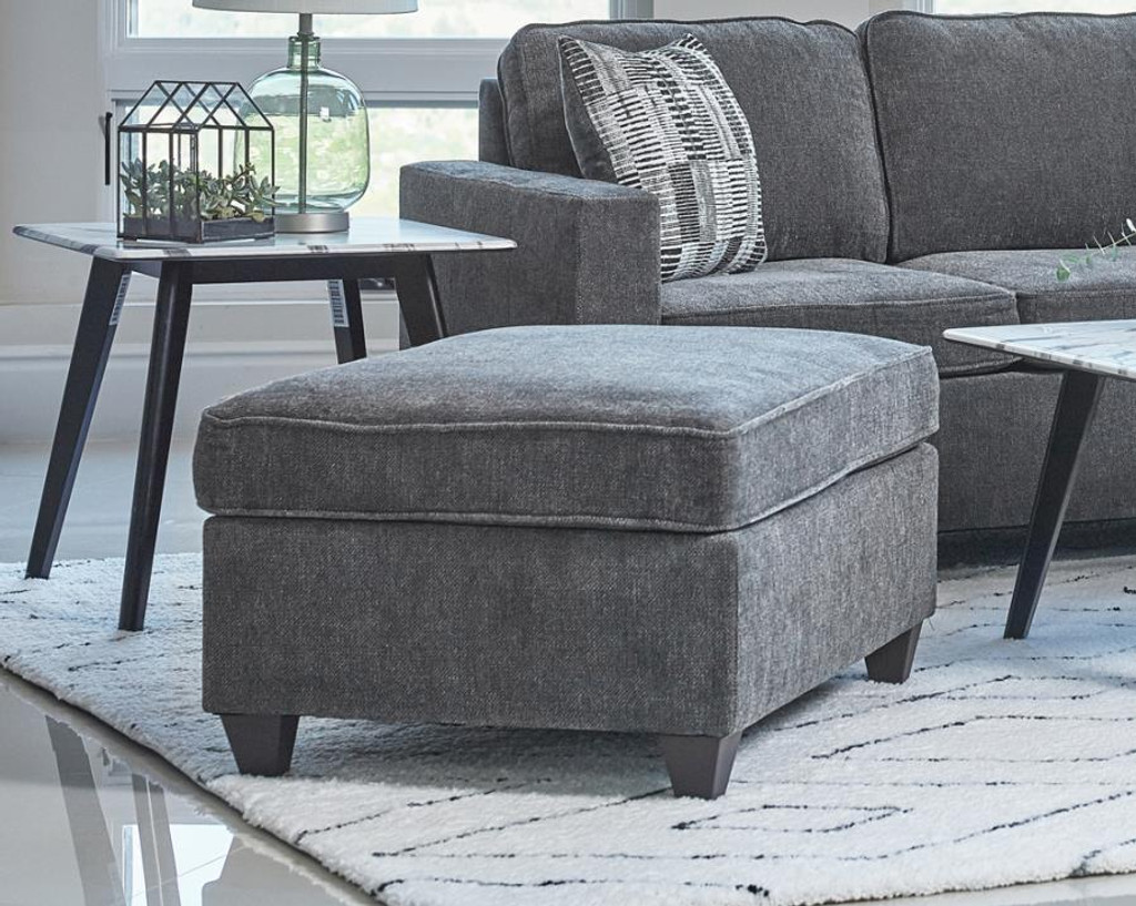 Essence Sectional with Ottoman