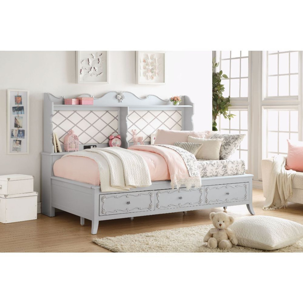 The Edalene Full Daybed With Storage Miami Direct Furniture