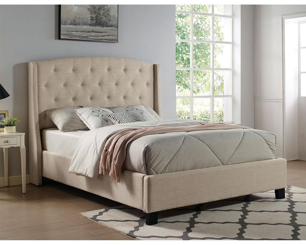 The Aliza Collection Upholstered Bed
