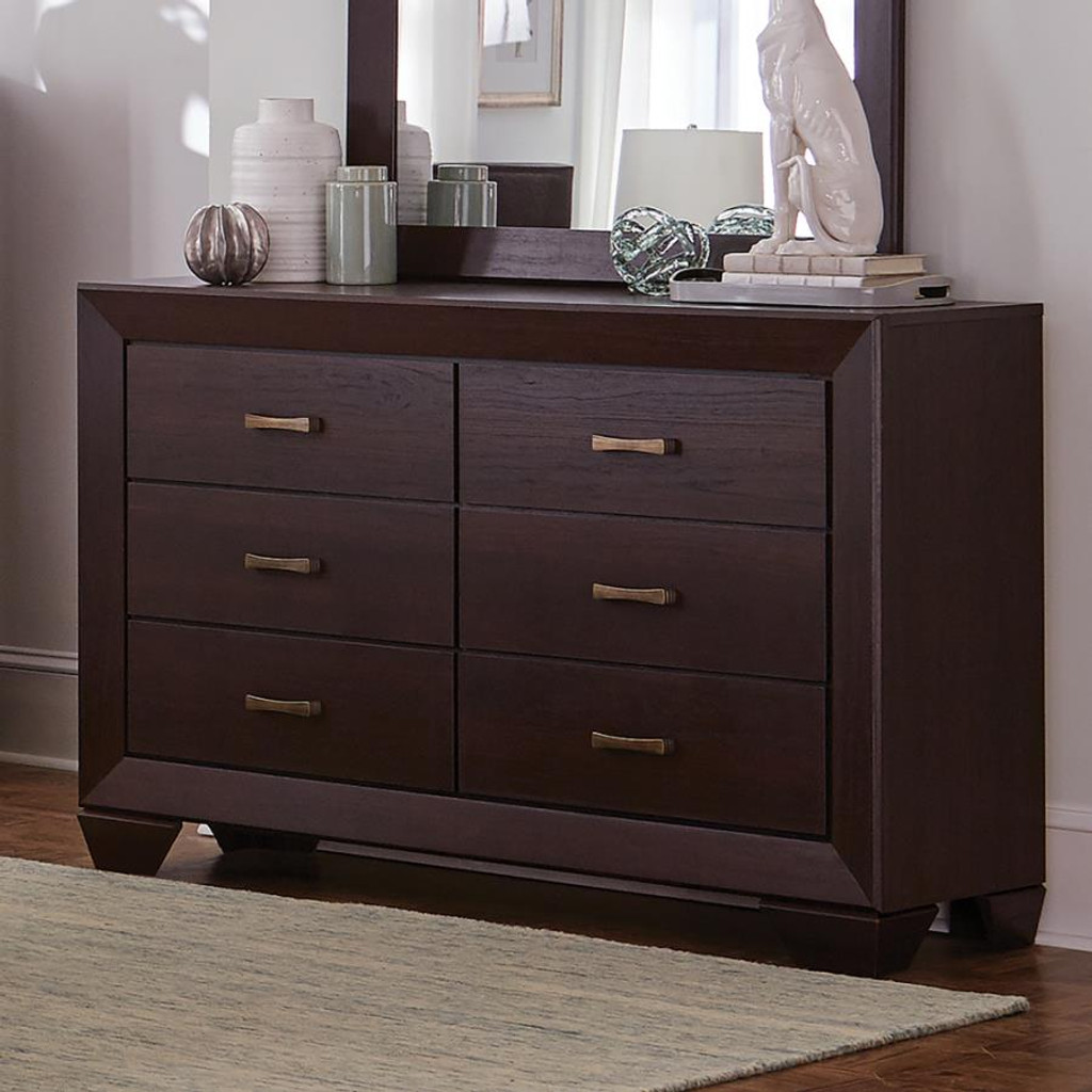 The 7pc Fenbrook Storage Bedroom Collection