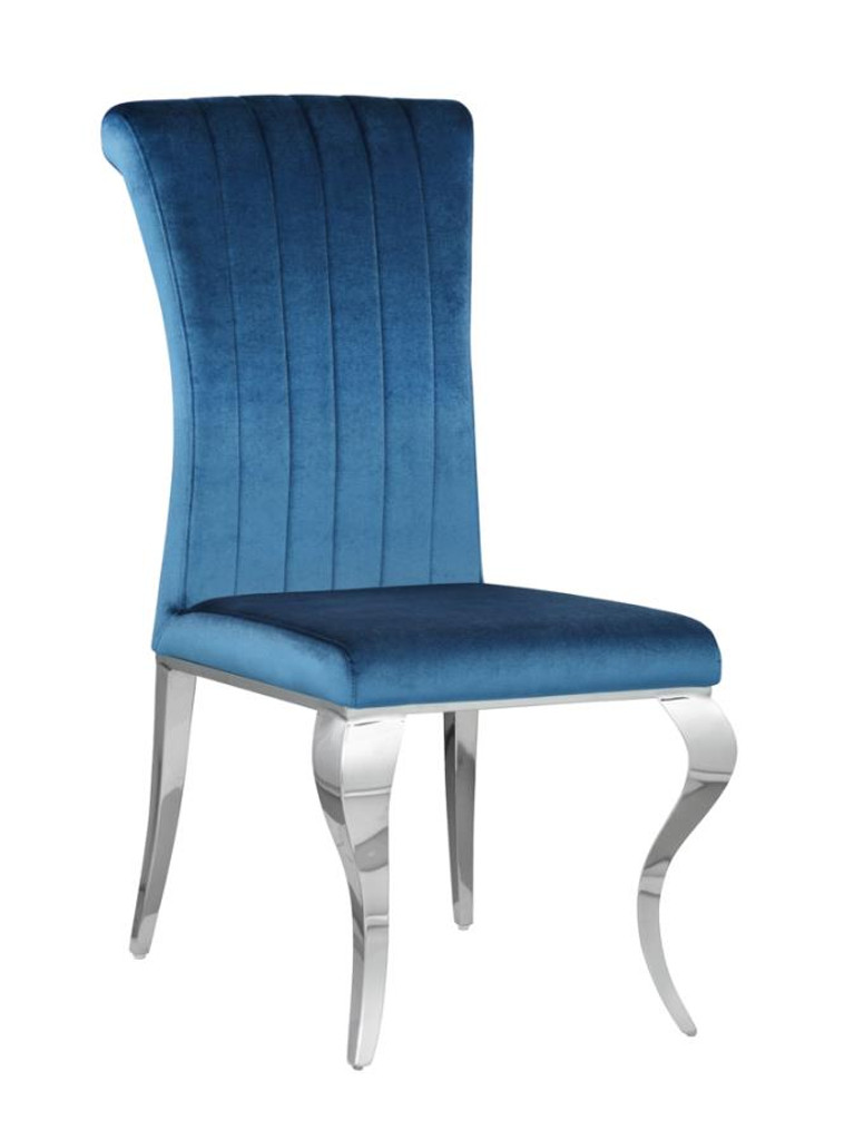 The Carone Teal Dining Collection
