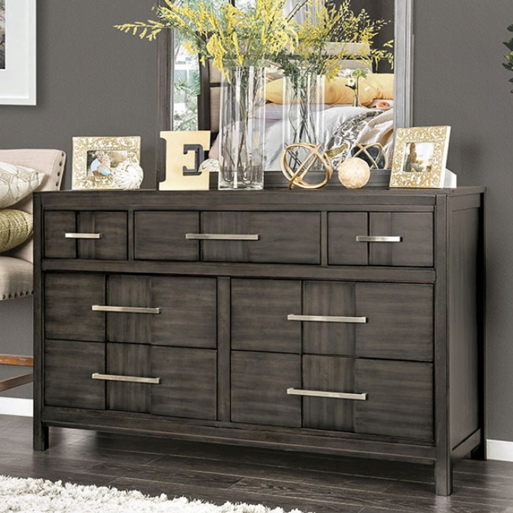 The Berenice Gray Bedroom Collection
