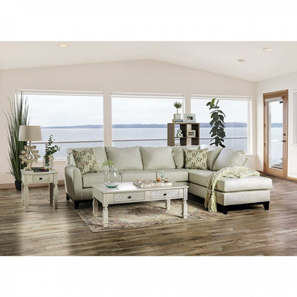 The Bridie Ivory Sectional