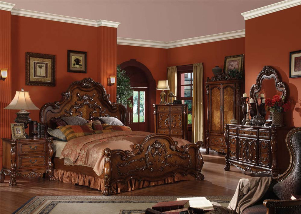 . The 7pc Dresden Bedroom Collection