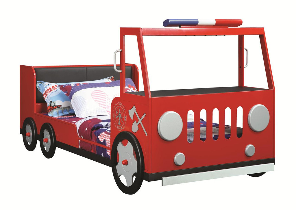 The Fire Rescue Car Bed