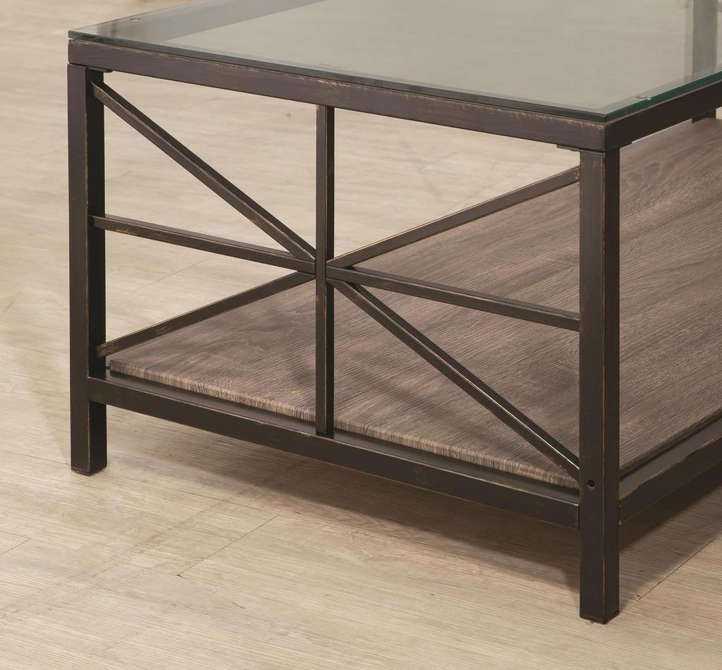 - Avondale Rustic Coffee Table Set - Miami Direct Furniture