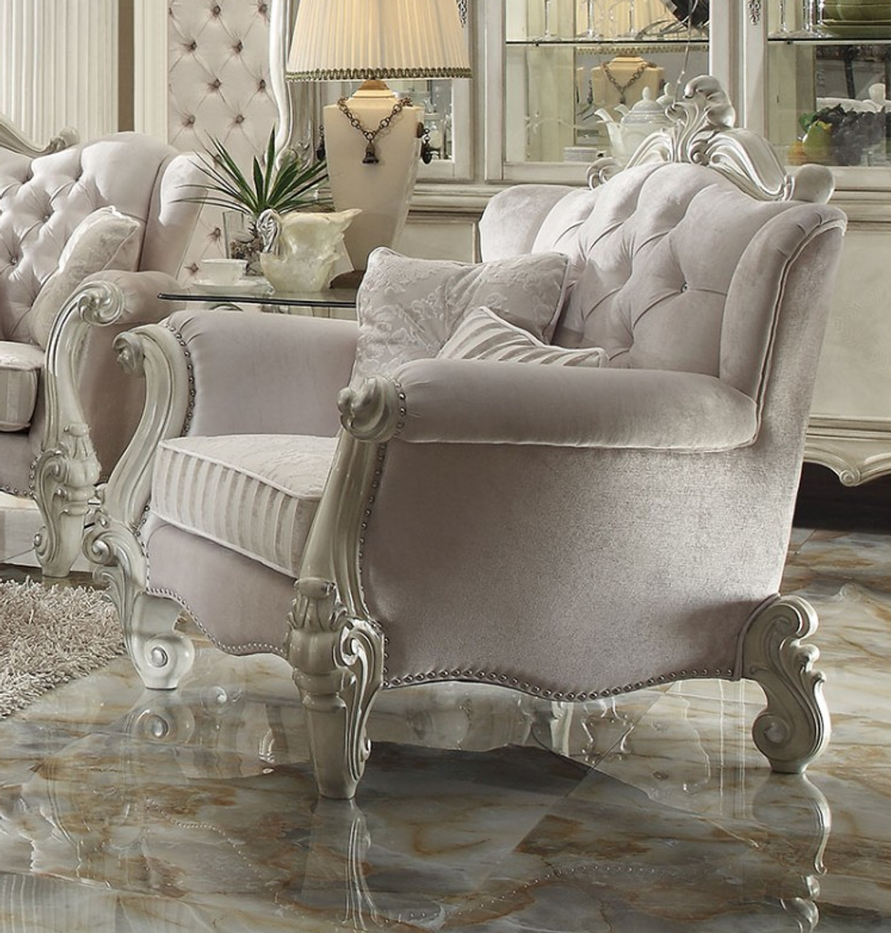 The Versailles Living Room Collection Accent Chair