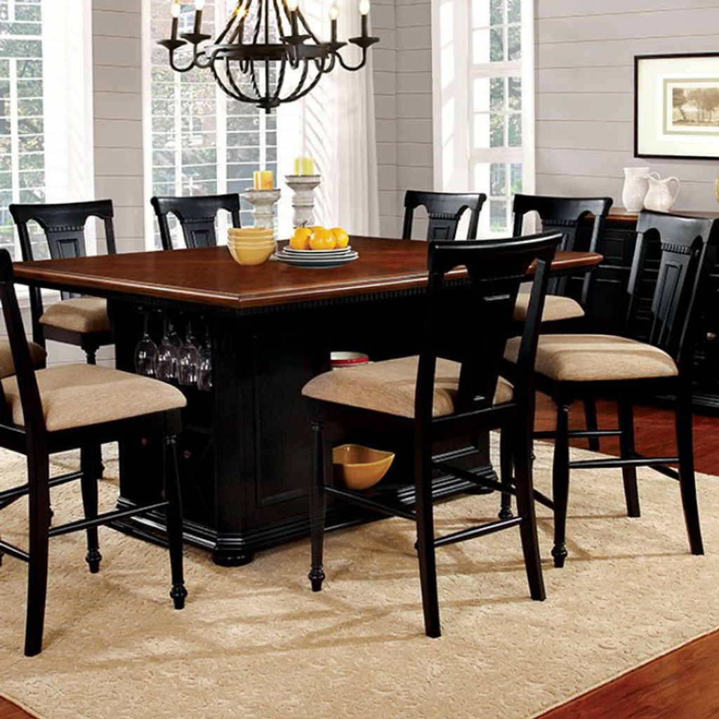Sabrina Cherry Black Dining Collection