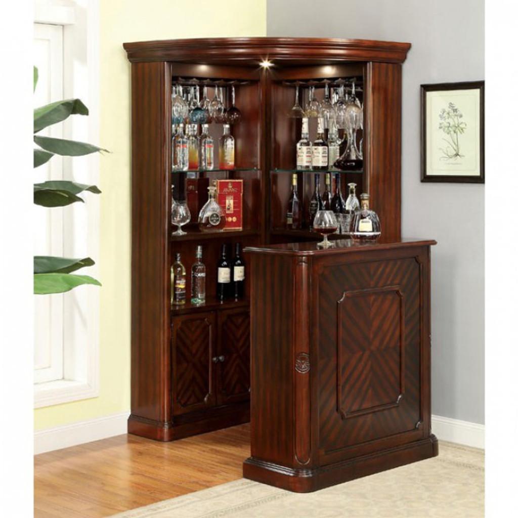 The Voltare 2pc Corner Bar Miami Direct Furniture