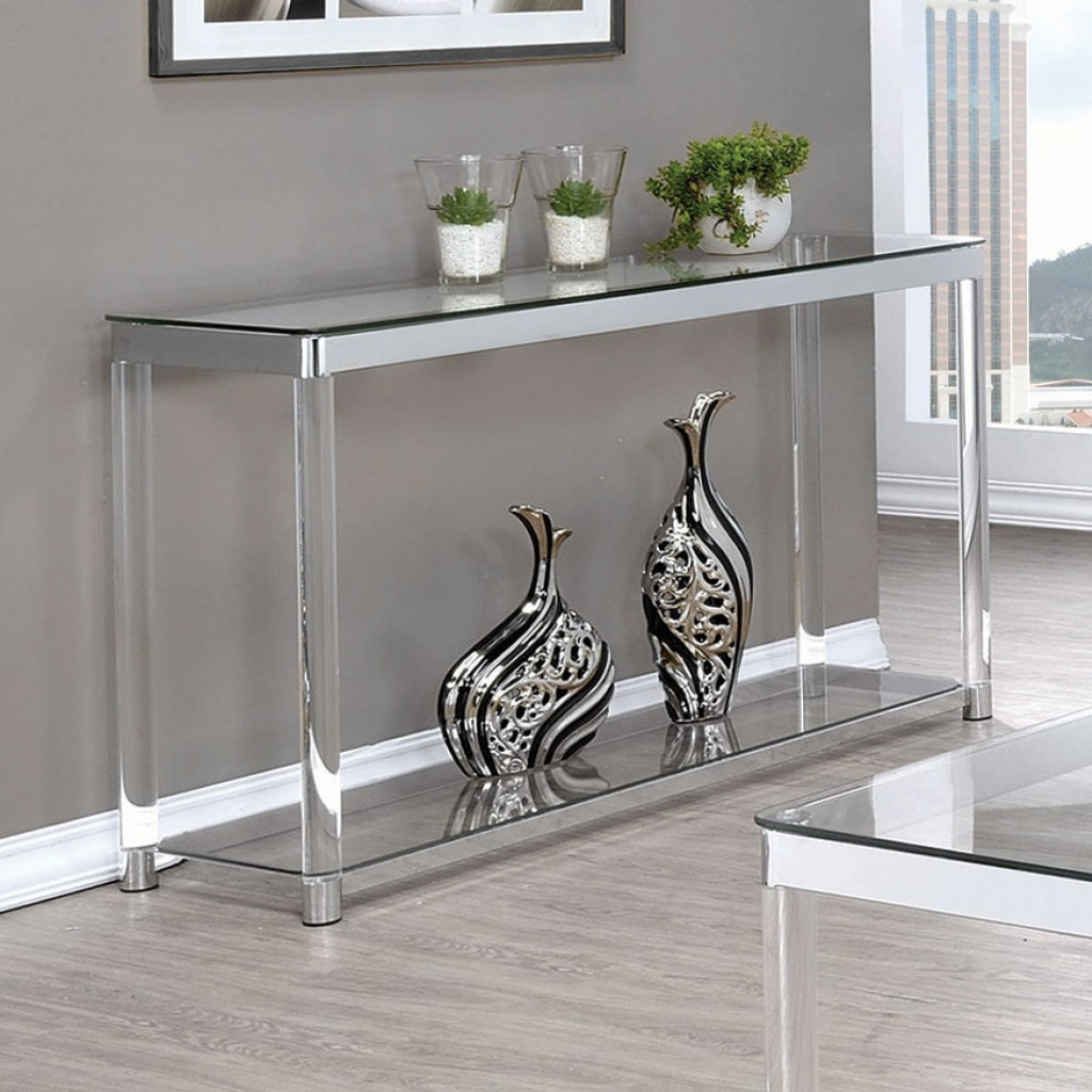 Sensational The Melrose Chrome Sofa Table Pdpeps Interior Chair Design Pdpepsorg