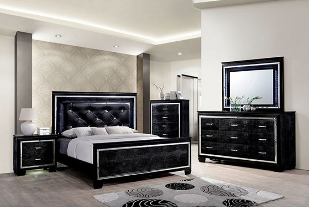 The Bellanova Black Bedroom Collection