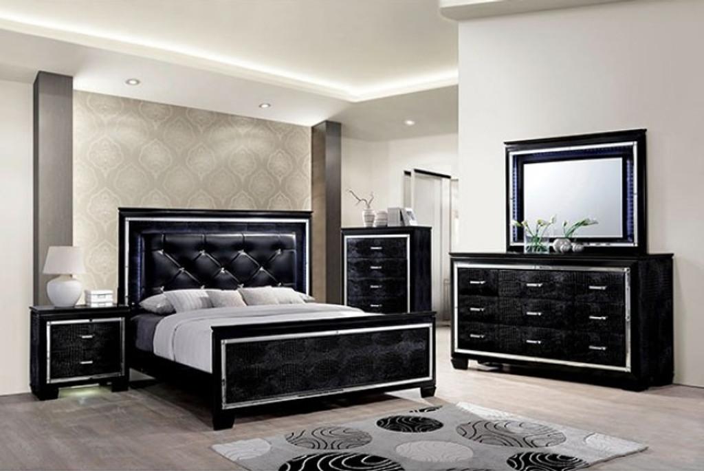 The Bellanova Black Bedroom Collection