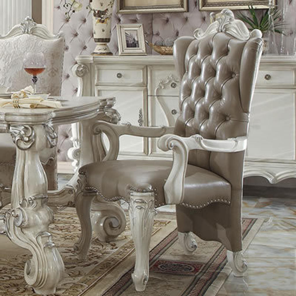 The Versailles White Royal Dining Room Collection Miami Direct