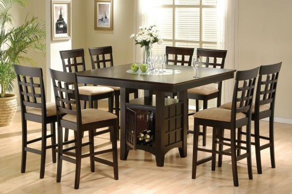The Gabriel Counter Height Dining Set Miami Direct Furniture