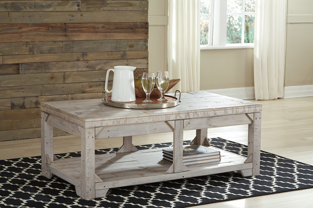 Lift Top Coffee Table Set 11