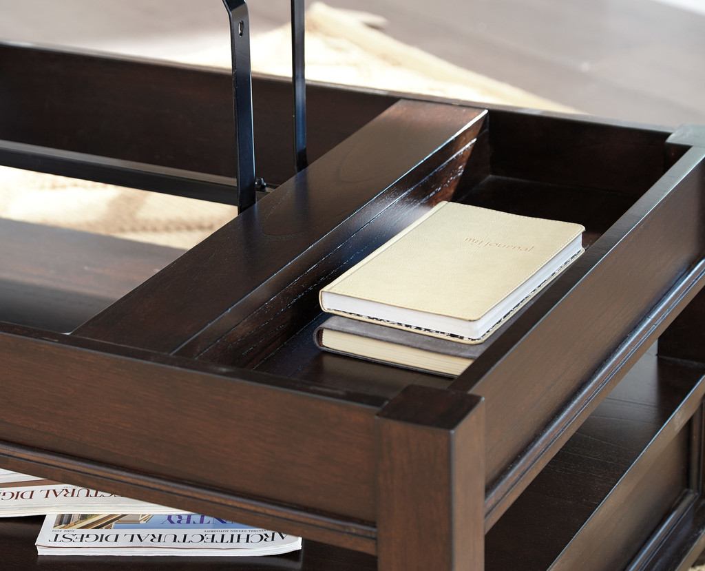 The Barilanni Lift Top Coffee Table