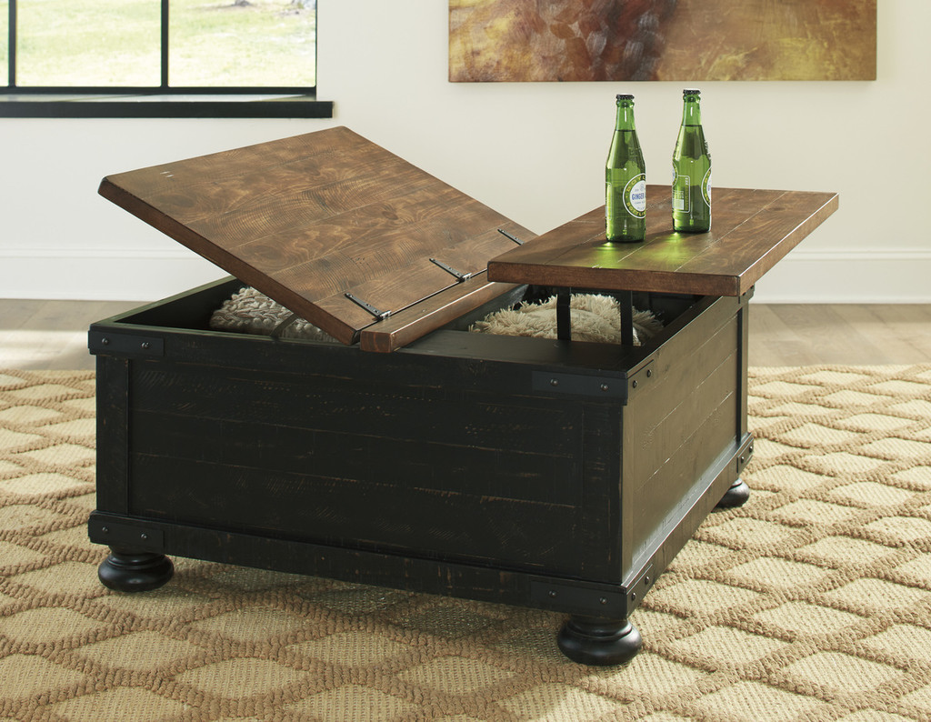 Lift Top Coffee Table Set 9